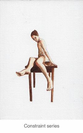 paintings, nude, oil,