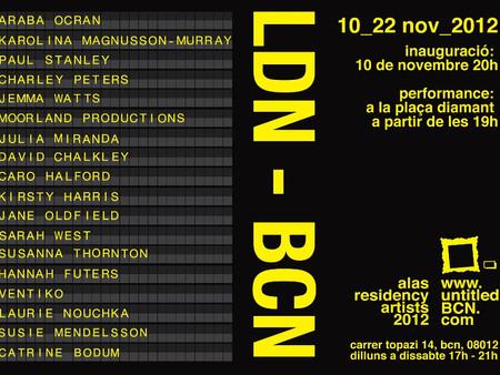 LDN-BCN at Untitled BCN Gallery