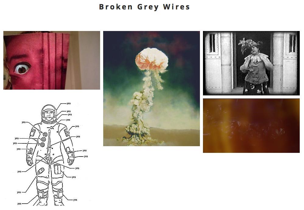 Kirsty Harris, Lizz Brady, Broken Grey Wires, art collective