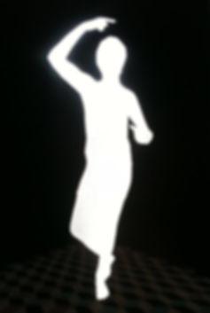 Kirsty Harris art, artist, st sebastian, silhouette, saint, miniature