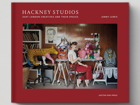 Featured in Hackney Studios Book by Jenny Lewis