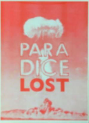 kirsty harris, tuart robinson, risograph, print, riso, atom bomb, mushroom cloud, paradice lost, vegas, plymouth, artwork, printmaking