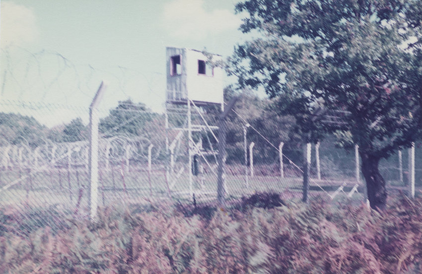 watchtower, kirsty harris, greenham common, cnd, peace, protest, carol harris