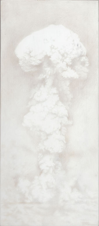 bikini atoll, able, nuclear bomb, atom bomb, kirsty harris, drawing, art, silverpoint