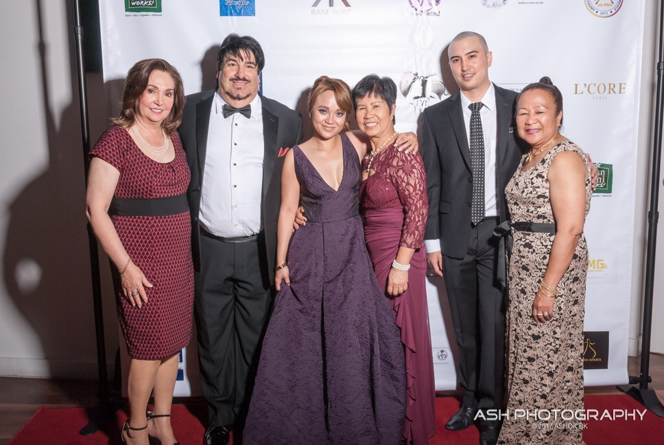 The Stars, Guest Artist and Executive Directors. (L-to-R) Lulut Palacios Chan, Joe Spinella, Rane Rose, Prima Guipo Hower, Allan Palacios Chan and Noh Dalid Conrad.