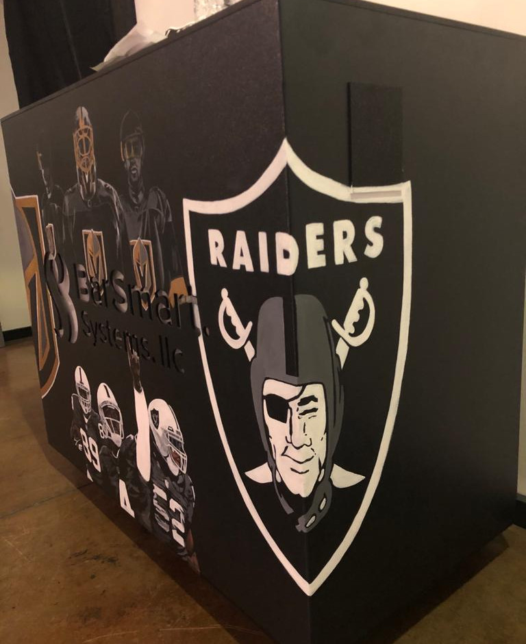 Customized Bar - Raiders