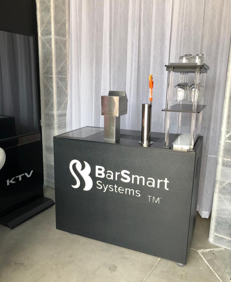 Small Bar setup