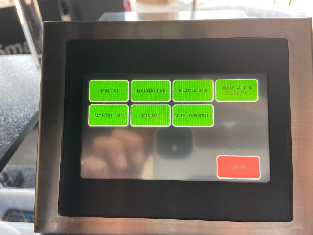 Touch Screen Menu