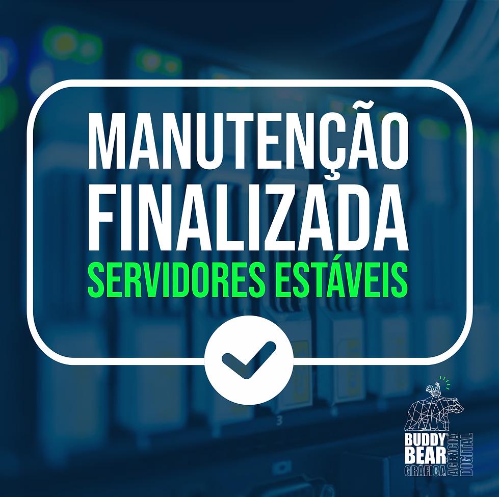 Manutenção_Servidores_Estaveis_JUL_202