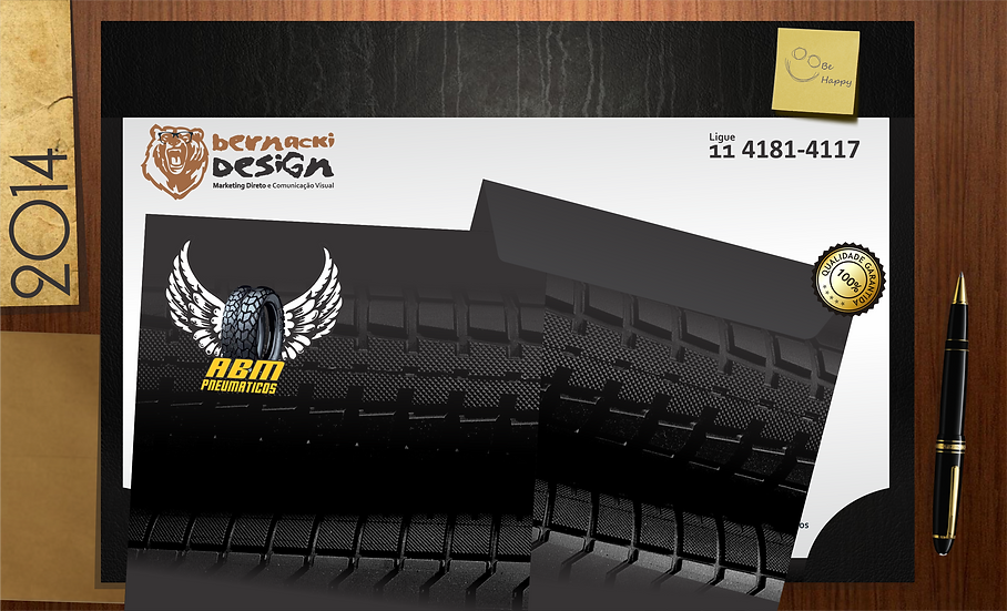 1000 Envelopes Saco 90gr/m²