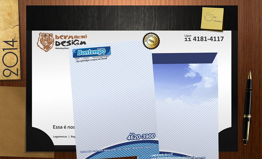 1000 Envelopes Meio Saco 90gr/m²