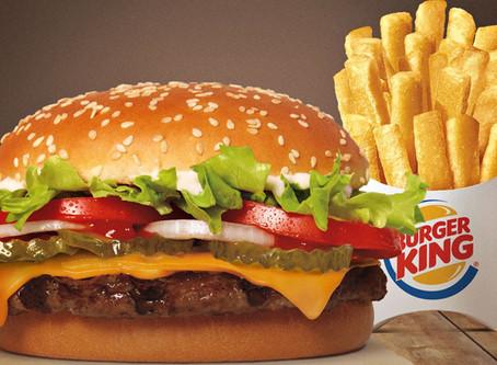 Burger King vai doar parte dos seus lucros para o SUS