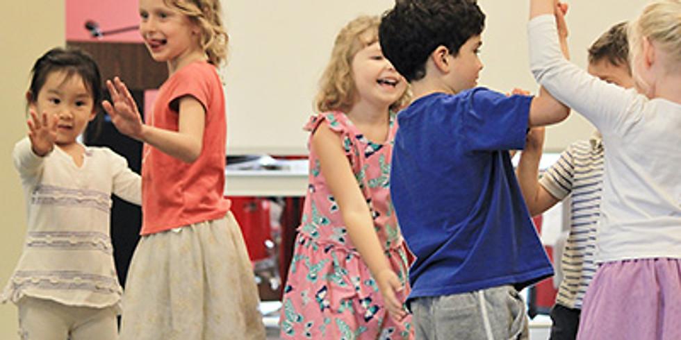 BW Dance & Dalcroze Class 3-4 Year Olds