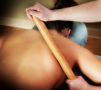 Massagem Bambu