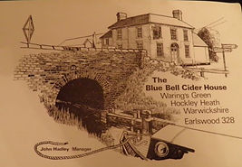 Postcard of the Blue Bell Cider House
