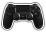 ps4-controller-black-png-42098-free-icon