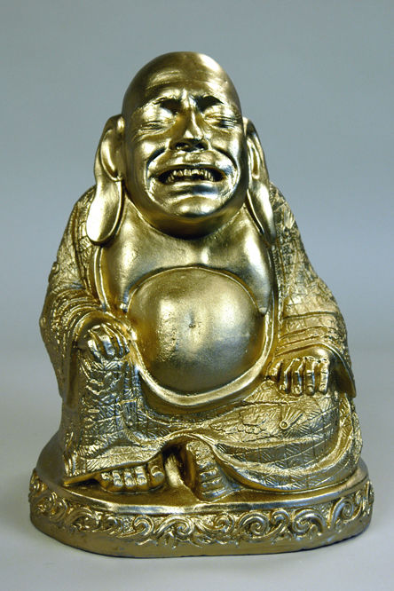 Self-Portrait as Tony the Irish Buddha