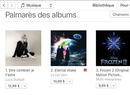 #1 iTunes CANADA