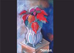 flor de natal pastel