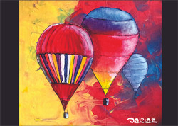 tres baloes