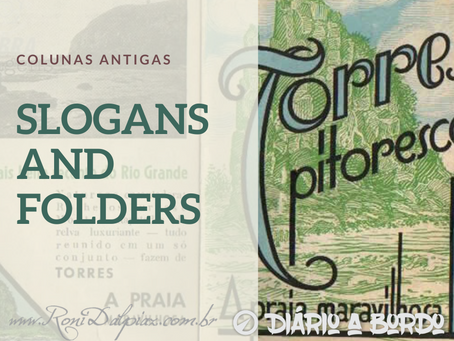 COLUNAS ANTIGAS - SLOGAN AND FOLDERS