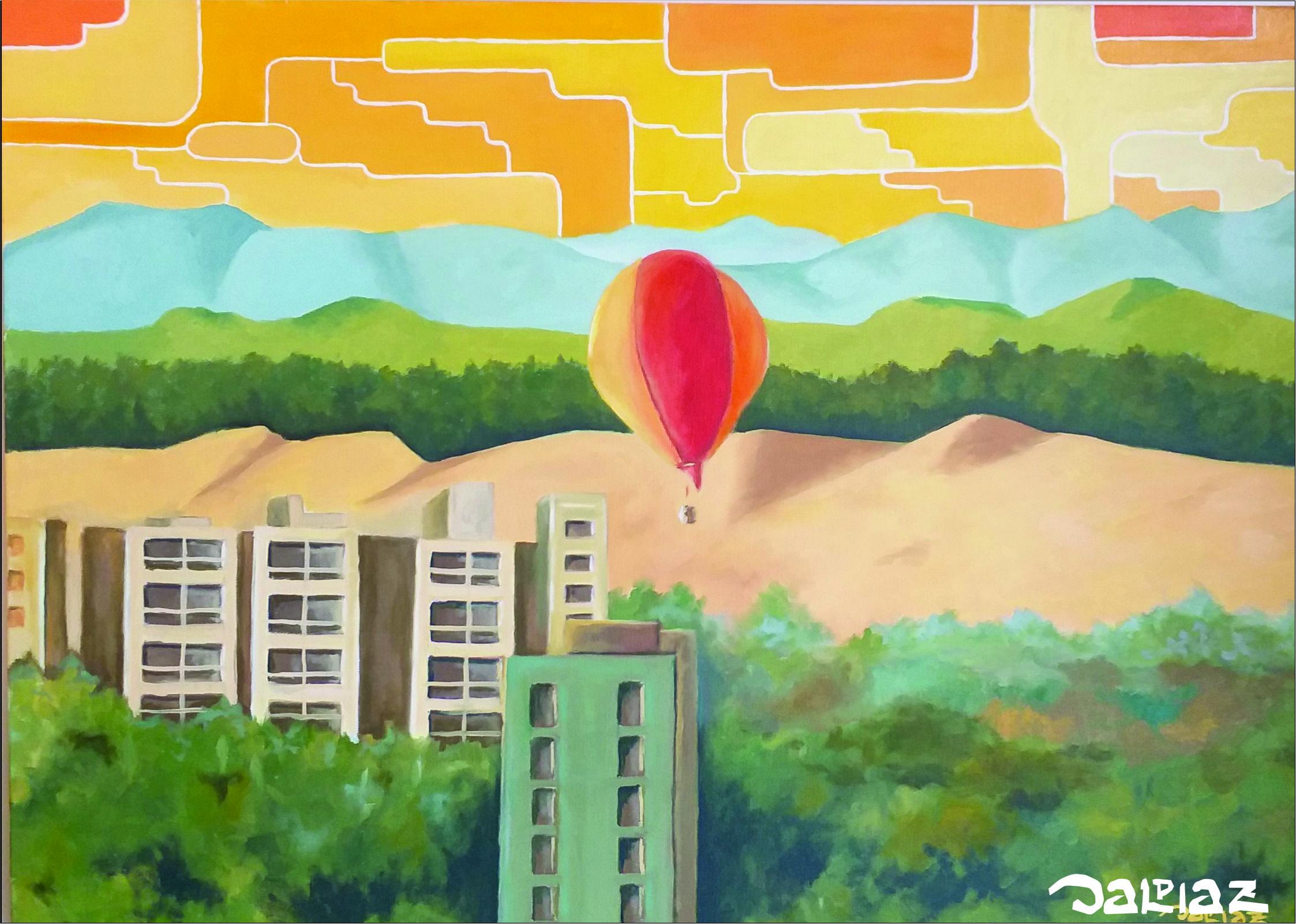 dunas e balão