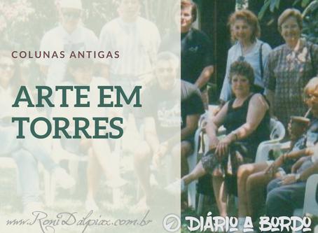 COLUNAS ANTIGAS - ARTE EM TORRES