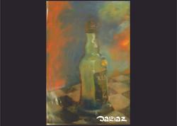 garrafa pastel