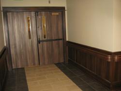 Flat Panel Wainscot, Handrail, Rhino