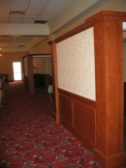 Raised Panel Wainscot, Columns