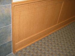 Flat Panel Wainscot