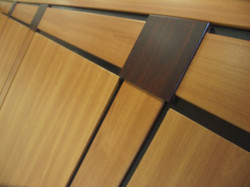 Vacuum Pressed Panels, Wrapped Mold