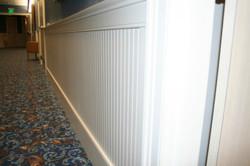 Beadboard Wainscot, Door Casing