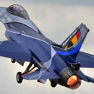 BAF F-16 solo display - Open Days Gilze-Rijen 2014