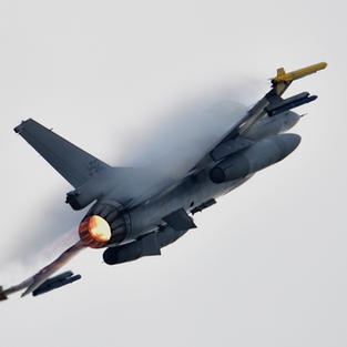 RNLAF F-16 Air Power Demo Volkel 2019