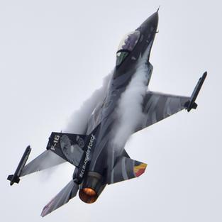 BAF F-16 Dark Falcon Solo Display