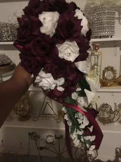 #creation #burgundy #bridal #bouquet #th