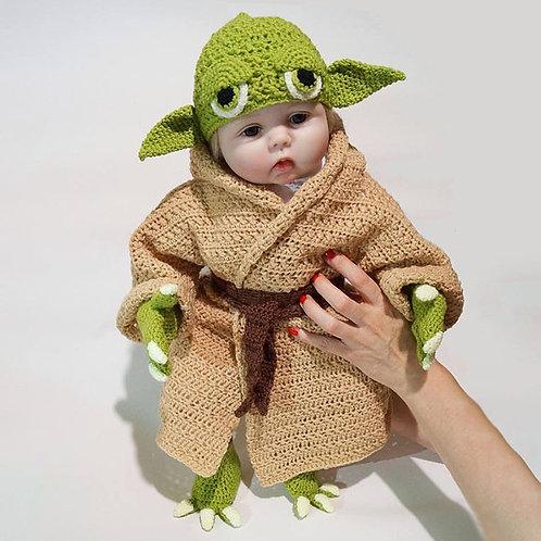 Yoda Style Newborn Infant Baby -Star Wars