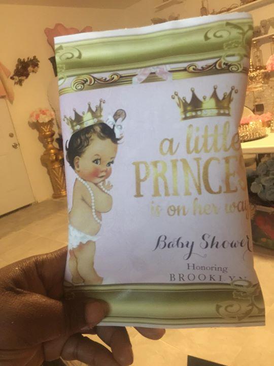 Lil Princess 👶 Custom Design chips _Des