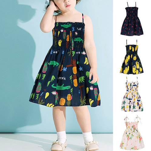 New Summer Babys Dress Toddler Baby Kids Girls  Babys