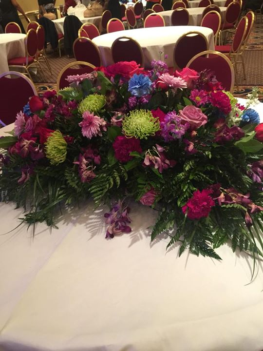 Funderal Service Decor