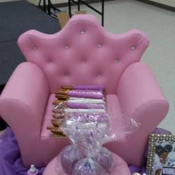 Pink Lil Princess Chair & Desert