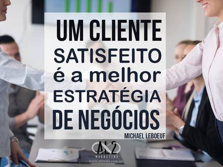Mais importante que conseguir novos clientes é manter os clientes satisfeitos!!!