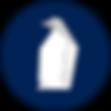 Origami Penguin Badge