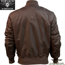 Top Gun Men's MA-1 / Brown