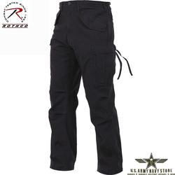Vintage M-65 Field Pants - Black