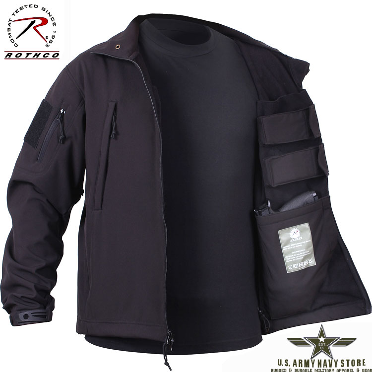 Concealed Carry Soft Shell Jacket