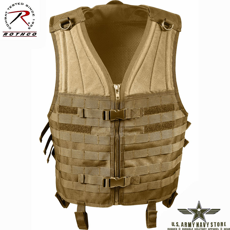 MOLLE Modular Tactical Vest - Coyote