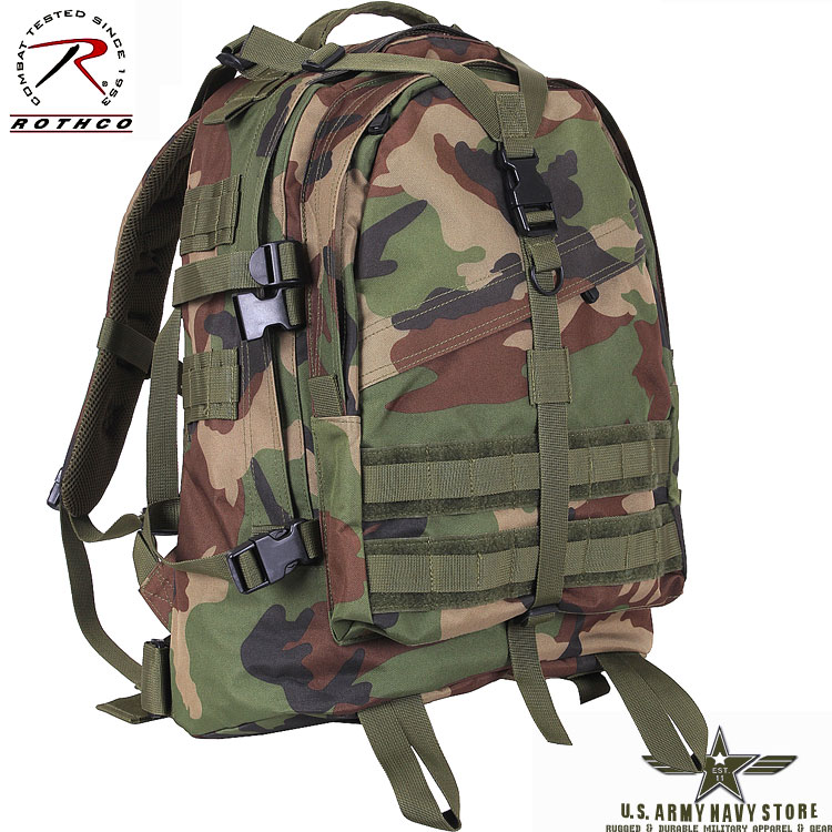 Large Transport Pack - Woodland Camo