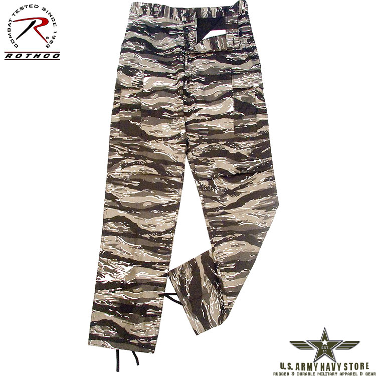 Poly/Cotton Twill BDU Pants U Tiger